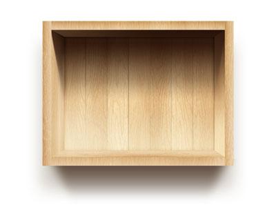 Исходник деревянного ящика