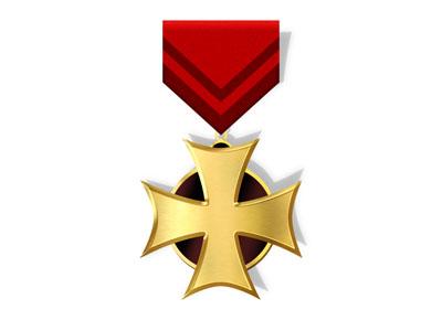 Исходник медали-креста