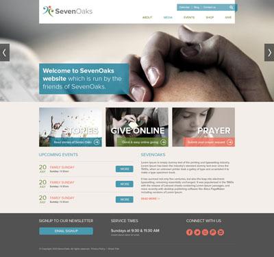 Небольшой макет инфо сайта