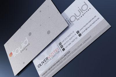 Бизнес-визитка компании