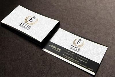 Макет визитки отеля, гостиницы