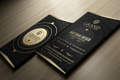 Макет визитки винтажного ресторана или бара