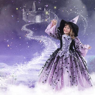 Детский шаблон: Маленькая волшебница