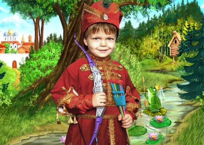 Детский шаблон: Иван царевич