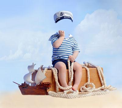 Детский морской макет