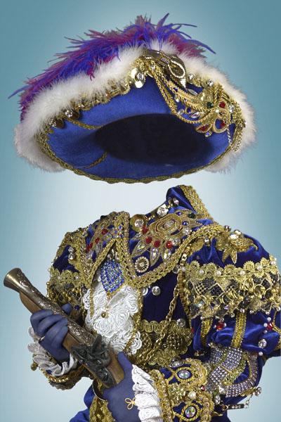 Детский шаблон для мальчика в виде принца в шляпе