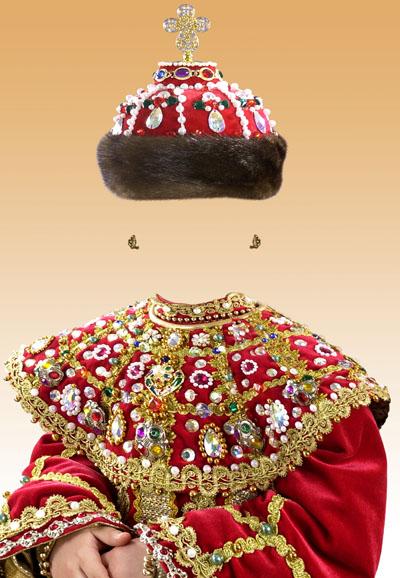 Детский костюм для девочки - царица