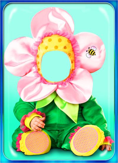 Детский костюм для малыша - цветочек