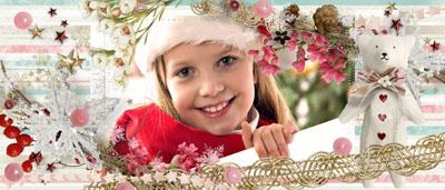 Кружка новогодняя для девочки