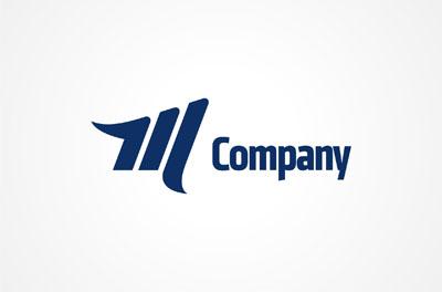 Логотип PSD для компании на букву М