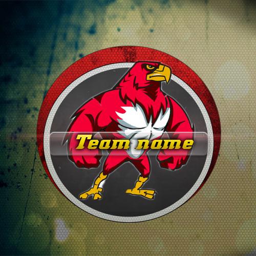 Логотип PSD для команды, клана