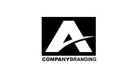 Логотип PSD для компании на букву А