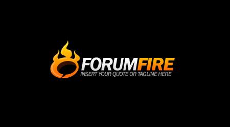 Логотип PSD с огнем