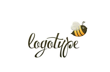 Логотип PSD с пчелой