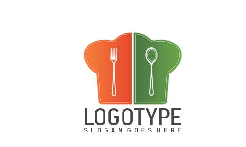 Логотип PSD для ресторана