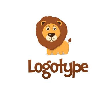 Логотип со львом