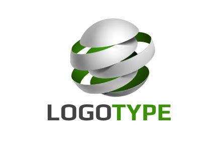 Логотип в виде шара