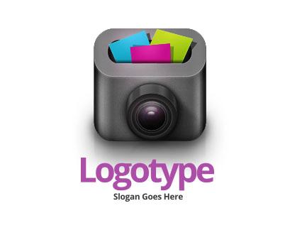 Логотип в виде фотоаппарата