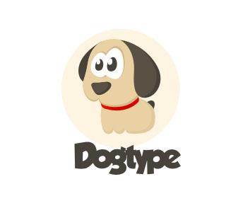 Логотип в виде игрушечной собаки