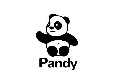 Логотип с пандой