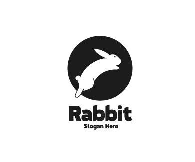 Логотип с кроликом