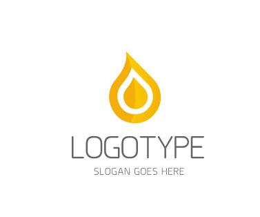 Логотип в виде капли