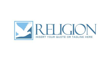Логотип с голубем