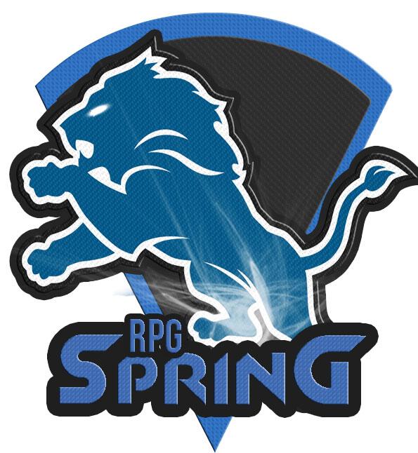 Логотип для команды или клана в виде льва