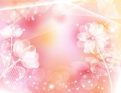 Фон цветочный розовый