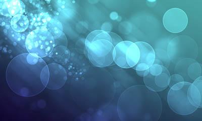 Фон размытый с пузырьками