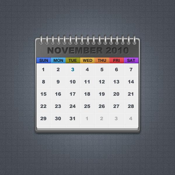 Стандартный календарь
