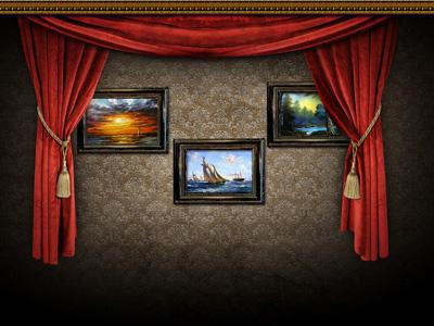 Стена с картинками