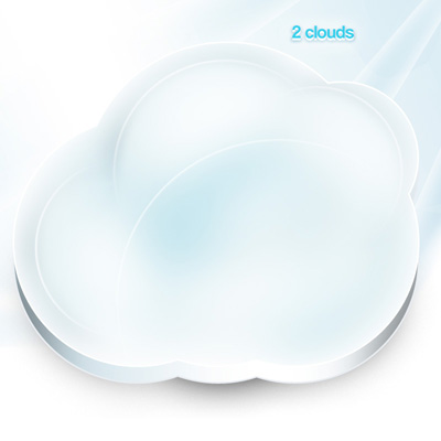 Простое белое облако