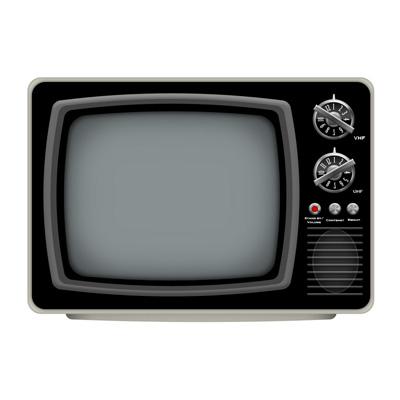 Старинный телевизор