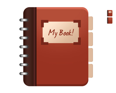 Простая иконка книги