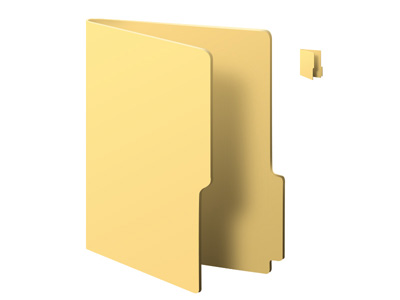 Открытая папка