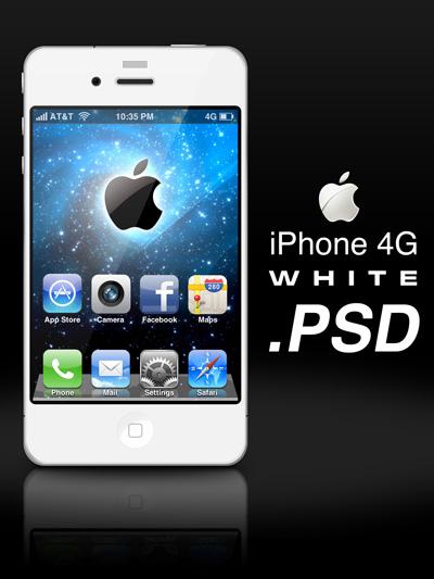 IPHONE 4G белый