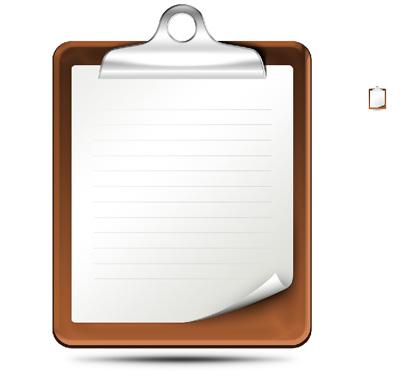 Доска для закрепления бумаги