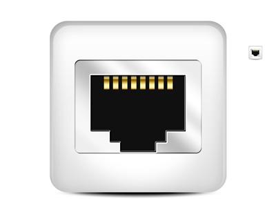 Порт для сетевого кабеля