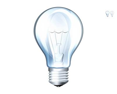 Прозрачная лампочка