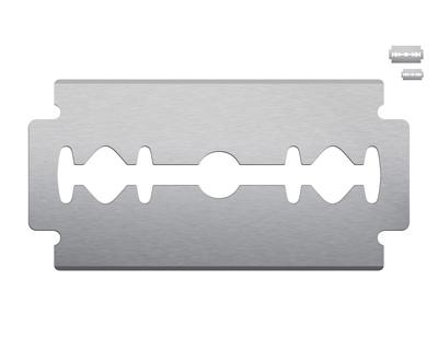 Железное лезвие лезвие для бритья