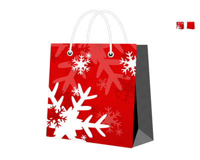 Подарочный рождественский пакет