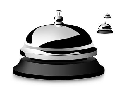 Иконка гостиничного звонка