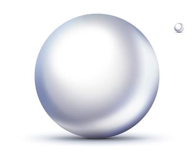Иконка белого шара