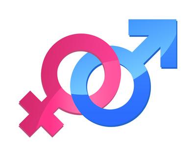Иконки женского и мужского