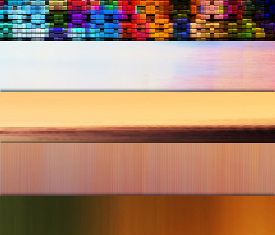 Набор разноцветных фонов
