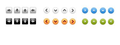 Небольшая подборка аккуратных веб-кнопочек