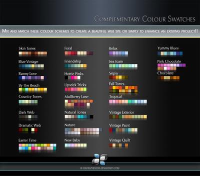 Наборы цвета, 27 наборов