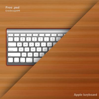 Клавиатура Apple на столе