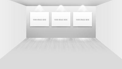 Шаблон галереи с картинами